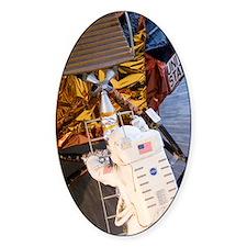 Astronaut descending Lunar Module l Decal