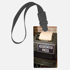 Associated Press teletype machin Luggage Tag