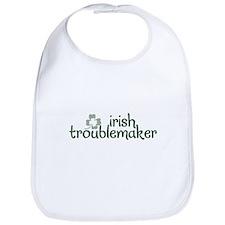 ST. PATRICK'S DAY Irish Troublemaker - Bib