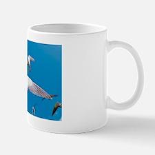 Arctic terns in flight Mug