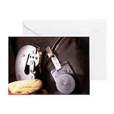 Asbestos monitoring Greeting Card