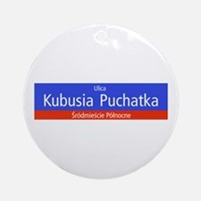 Ulica Kubusia Puchatka, Warsaw (PL) Ornament (Roun