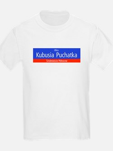 Ulica Kubusia Puchatka, Warsaw (PL) Kids T-Shirt