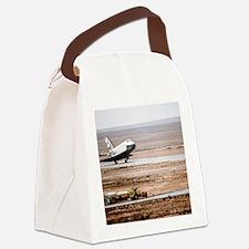 Buran space shuttle landing Canvas Lunch Bag