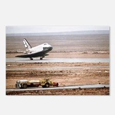 Buran space shuttle landi Postcards (Package of 8)
