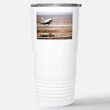 Buran space shuttle landing Travel Mug
