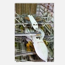 Buran space shuttle befor Postcards (Package of 8)
