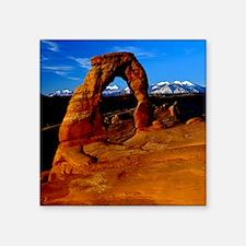 "Arches National Park, Utah Square Sticker 3"" x 3"""