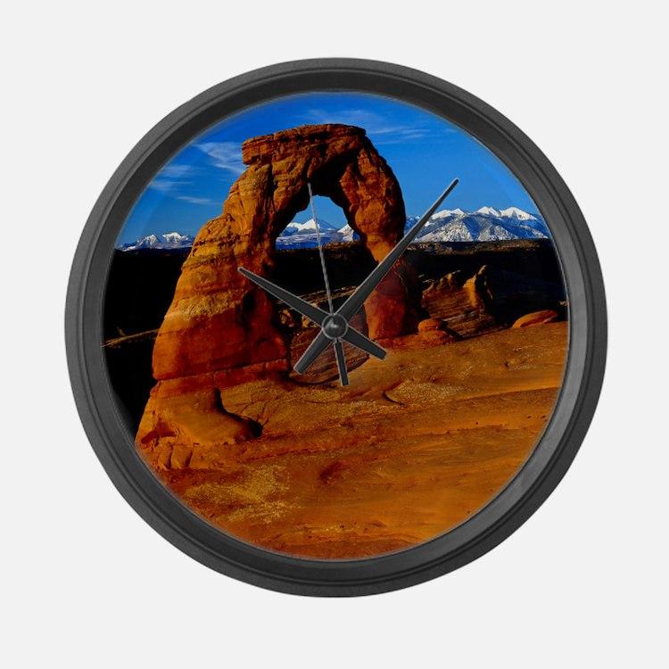 Arches National Park, Utah Large Wall Clock