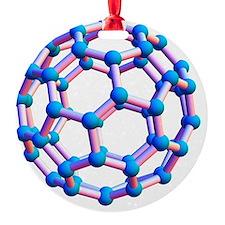 Buckminsterfullerene molecule Ornament