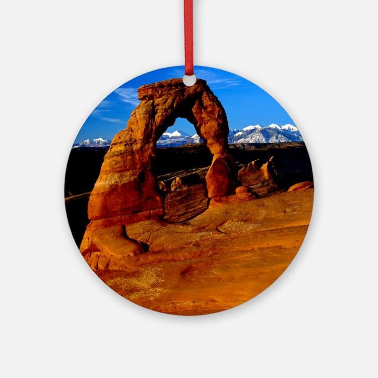 Arches National Park, Utah Round Ornament