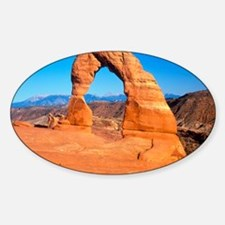 Arches National Park, Utah Sticker (Oval)