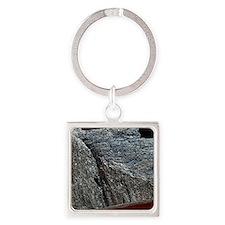 Antimony Square Keychain