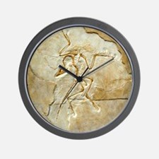 Archaeopteryx fossil, Berlin specimen Wall Clock
