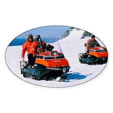 Antarctic skidoos Decal