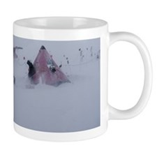 Antarctic field camp Mug