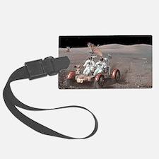 Apollo lunar rover, artwork Luggage Tag