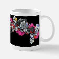 Bovine prion protein, molecular model Mug