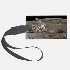 Apollo 16 lunar rover, artwork Luggage Tag