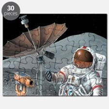 Apollo 15 exploration, artwork Puzzle