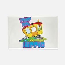 Trailer Park Hippie Rectangle Magnet