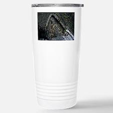 Anticlinal folded rock strata Travel Mug