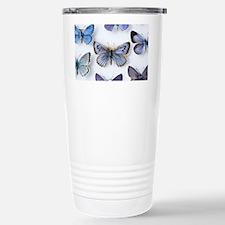 British large Blue butterfly co Travel Mug