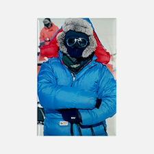 Antarctic researcher Rectangle Magnet