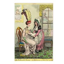 Breastfeeding, 18th-centu Postcards (Package of 8)