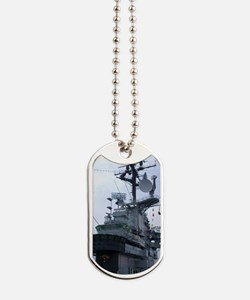 Bridge of USS Intrepid aircraft carrier Dog Tags