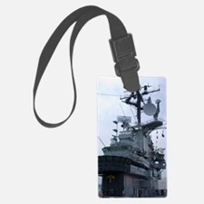 Bridge of USS Intrepid aircraft  Luggage Tag