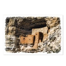 montezuma castle Postcards (Package of 8)