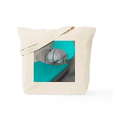 Brain scan, conceptual artwork Tote Bag