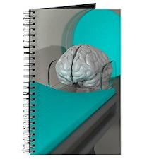 Brain scan, conceptual artwork Journal