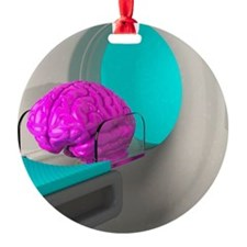 Brain scan, conceptual artwork Ornament