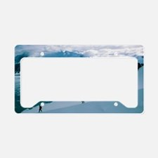 Antarctic climbing License Plate Holder