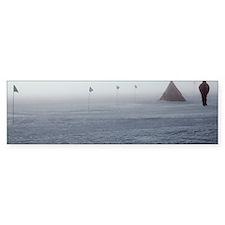 Antarctic field camp Bumper Sticker