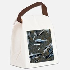 Andesite rock Canvas Lunch Bag