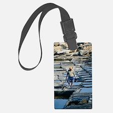 Ancient salt pans Luggage Tag