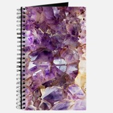 Amethyst crystals Journal