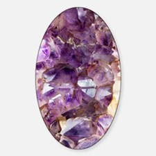 Amethyst crystals Decal