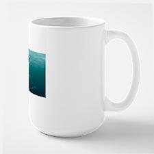 Ambulocetus, whale precursor, artwork Mug