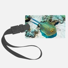 Bluespotted ribbontail ray Luggage Tag