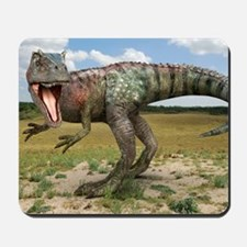 Allosaurus dinosaur, artwork Mousepad
