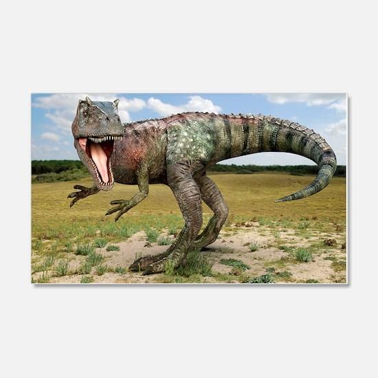 Allosaurus dinosaur, artwork Wall Decal