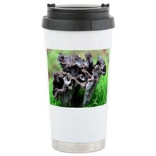 Black chanterelle mushrooms Travel Mug
