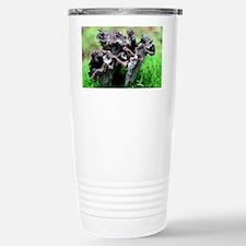 Black chanterelle mushrooms Travel Mug