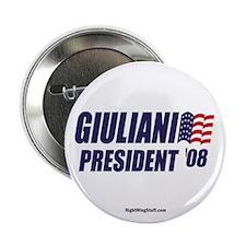 "Giuliani '08 2.25"" Button (100 pack)"
