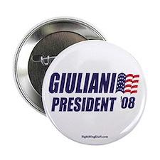 "Giuliani '08 2.25"" Button (10 pack)"
