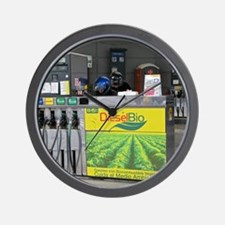Biodiesel fuel pump Wall Clock